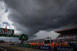 Des nuages menaçants au-dessus du Mans