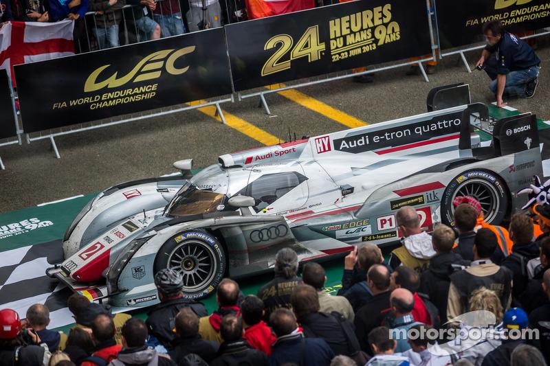 2013 - Audi R18 e-tron quattro : Tom Kristensen, Allan McNish, Loïc Duval
