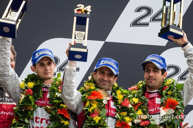 2013 - 24h de Le Mans: 3º Lugar em (Audi)