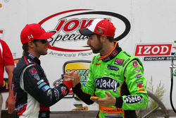 James Hinchcliffe et Marco Andretti