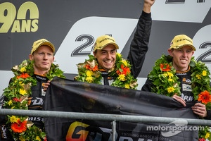 LMP2 podium: third place Roman Rusinov, John Martin, Mike Conway