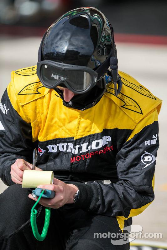 Dunlop monitoramento de temperatura de pneu