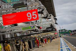 Hommage à Allan Simonsen #95 Aston Martin Racing Aston Martin Vantage GTE: Allan Simonsen, Christoffer Nygaard, Kristian Poulsen