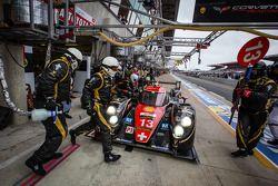 Pit stop #13 Rebellion Racing Lola B12/60 Coupe Toyota: Mathias Beche, Congfu Cheng, Andrea Belicchi