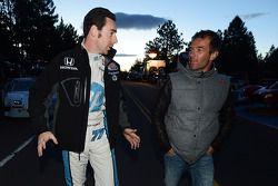 Simon Pagenaud e Sébastien Loeb
