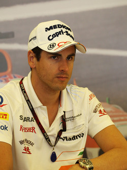 Adrian Sutil, Sahara Force India F1 at a TW Steel media call.