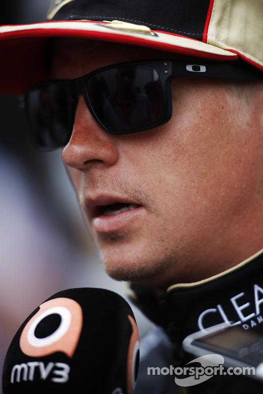 Kimi Raikkonen, Lotus F1 Team.