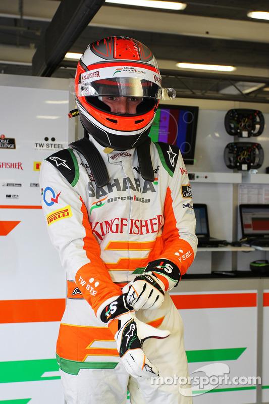 James Rossiter, Sahara Force India F1 VJM06 piloto de simulador.