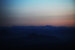 La vue de Pikes Peak