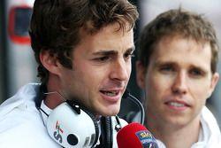 James Rossiter, Sahara Force India F1 Simulator pilotu ve Will Hings, Sahara Force India F1 Basın So