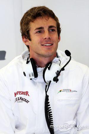 James Rossiter, Sahara Force India F1 Simulator pilotu