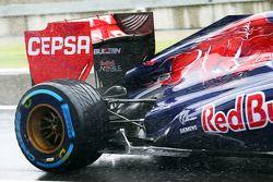Sensor equipment, Scuderia Toro Rosso STR8