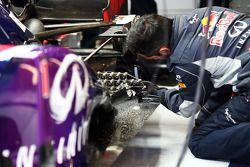 Sensor equipment, Red Bull Racing RB9