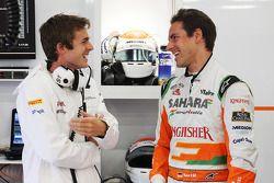 James Rossiter, Sahara Force India F1 Simulator pilotu ve Bradley Joyce, Sahara Force India F1 yarış