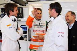 James Rossiter, Sahara Force India F1 Simulator pilotu ve Adrian Sutil, Sahara Force India F1 ve Bra
