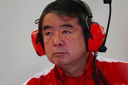 Hirohide Hamashima, Ferrari Tyre mühendis