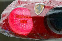 Ferrari pit light system covered rain