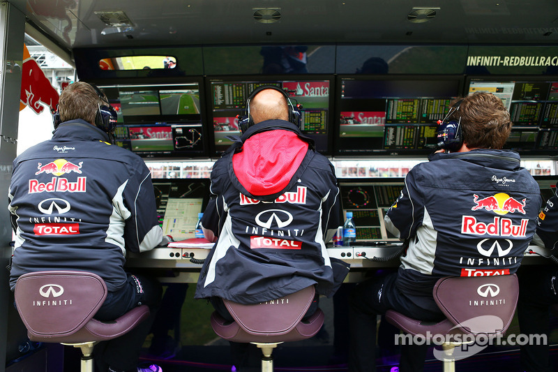 Adrian Newey, Red Bull Racing Chief Technical Officer, en Christian Horner, Teambaas Red Bull Racing
