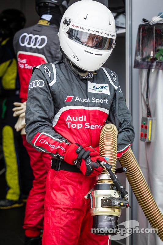 Audi Sport; reabastecedor