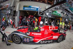 Pit stop #46 Thiriet by TDS Racing Oreca 03 Nissan: Pierre Thiriet, Maxime Martin, Ludovic Badey