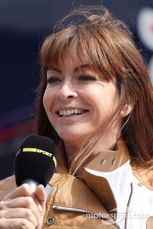 Suzi Perry, BBC F1 Sunucusu