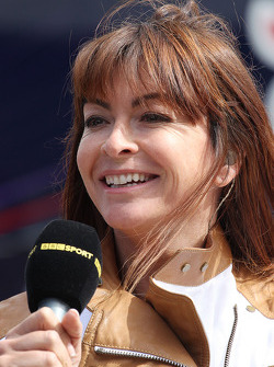 Suzi Perry, BBC F1 Presenter