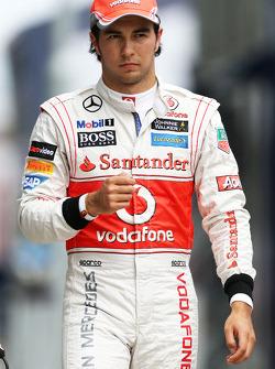 Sergio Perez, McLaren Mercedes