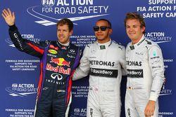 İlk üç qualifiers kapalı park, Red Bull Racing, 3.; Lewis Hamilton, Mercedes AMG F1, Pole: position