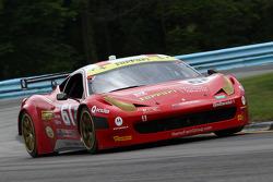 #61 R.Ferri/AIM Motorsport Racing com Ferrari Ferrari 458: Max Papis, Jeff Segal, Toni Vilander