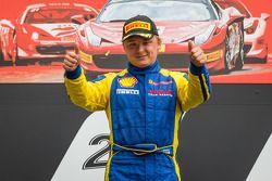 Podium: racewinnaar Sergey Chukanov