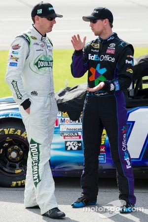 Kyle Busch en Denny Hamlin