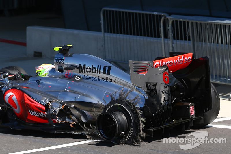 La peor posición con McLaren, GP de Gran Bretaña 2013