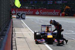 Sebastian Vettel, Red Bull Racing relastikleri from race