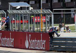 Sebastian Vettel, Red Bull Racing stope, track