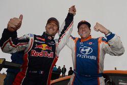 Vencedor Sébastien Loeb, com segundo colocado Rhys Millen