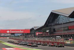 Start, race, Max Chilton, Marussia F1 Team ve Jules Bianchi, Marussia Formula 1 Team