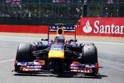 Sebastian Vettel Red Bull Racing RB9 gridde