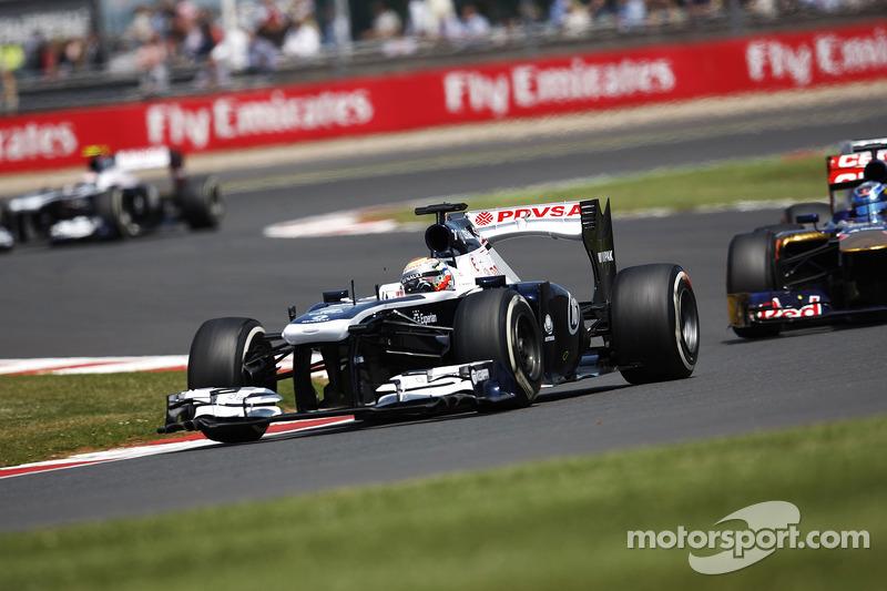 Pastor Maldonado Williams FW35