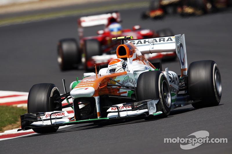 Adrian Sutil Sahara Force India VJM06
