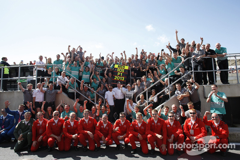 Mercedes fue 2º en el campeonato de constructores