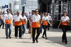 Subrata Roy Sahara Sahara Yönetim Kurulu Başkanı ve Sahara Force India F1 Team