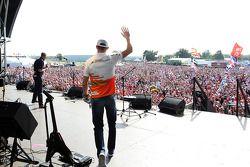 Paul di Resta Sahara Force India F1 at the post race concert