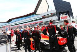 Marussia F1 Team on the grid