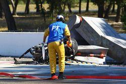 L'accident fatal d'Andrea Mamé