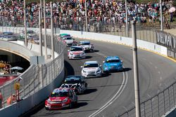 James Thompson, LADA Sport Lukoil Lada Granta, Michel Nykjaer, NIKA Racing Chevrolet Cruze 1.6 T, To