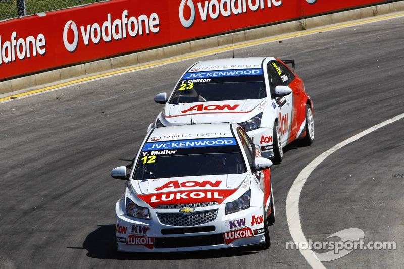 Yvan Muller, Chevrolet Cruze 1.6T, RML voor Tom Chilton, Chevrolet Cruze 1.6 T, RML
