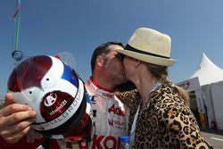 Yvan Muller, Chevrolet Cruze 1.6T, RML, con sua moglie Justine Monnier