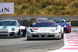 #10 SOFREV APS: Maurice Ricci, Gabriel Balthazard, Jérome Policand, Ferrari 458 Italia