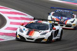 #11 ART Grand Prix: Antoine Leclerc, Mike Parisy, Andy Soucek, McLaren MP4-12C