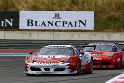 #51 AF Corse: Filipe Barreiros, Francisco Guedes, Ferrari 458 Italia
